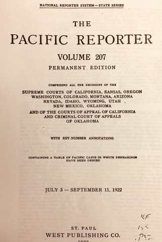 pacific reporter