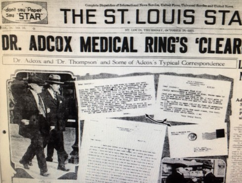 adcox front page