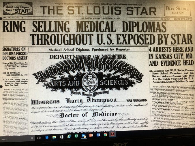 Figure 2 St. Louis Star front page